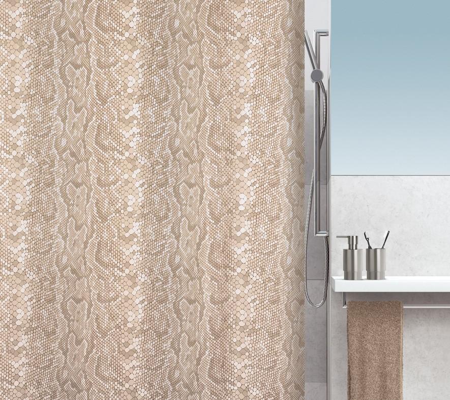 Κουρτίνα Μπάνιου (180×180) Spirella Snake 02010.001