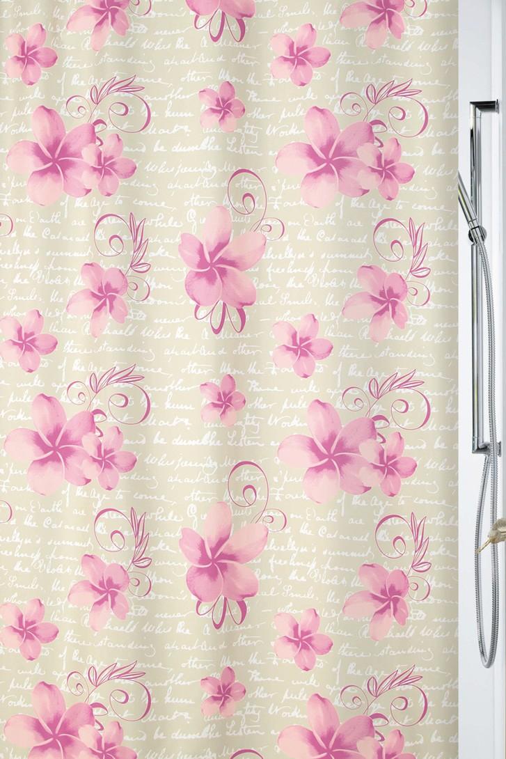 Κουρτίνα Μπάνιου (180x200) Rainbow Romantica 02087