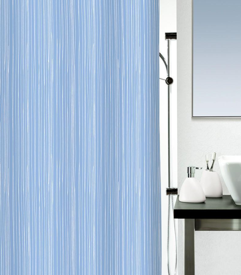 Κουρτίνα Μπάνιου (180×200) Rainbow Raya 02155.003 Μπλε