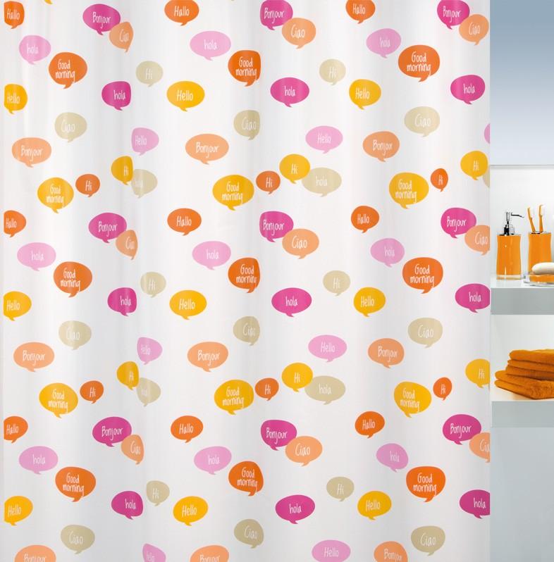 Κουρτίνα Μπάνιου Πλαστική (180x200) Green Style Ciao 00775