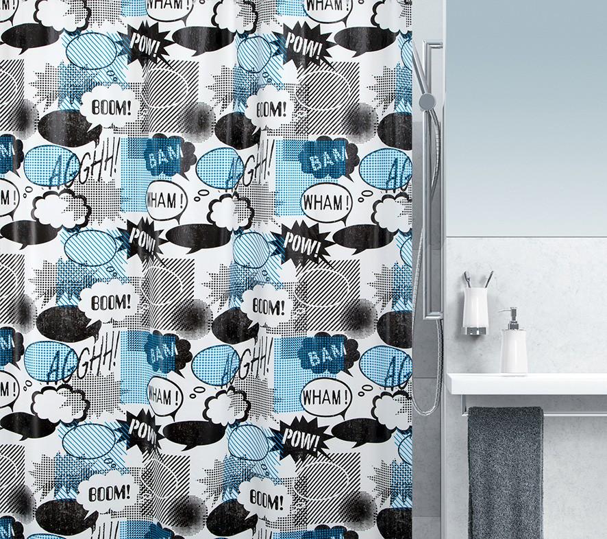 Κουρτίνα Μπάνιου Πλαστική (180x200) Green Style Wow 00856