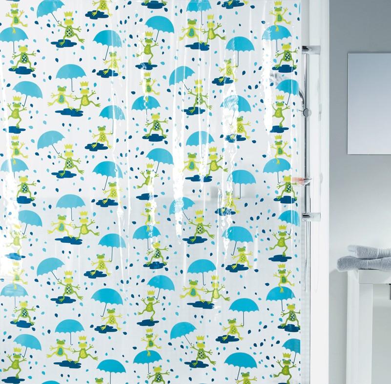 Κουρτίνα Μπάνιου Πλαστική (180x200) Green Style Pondy 00984
