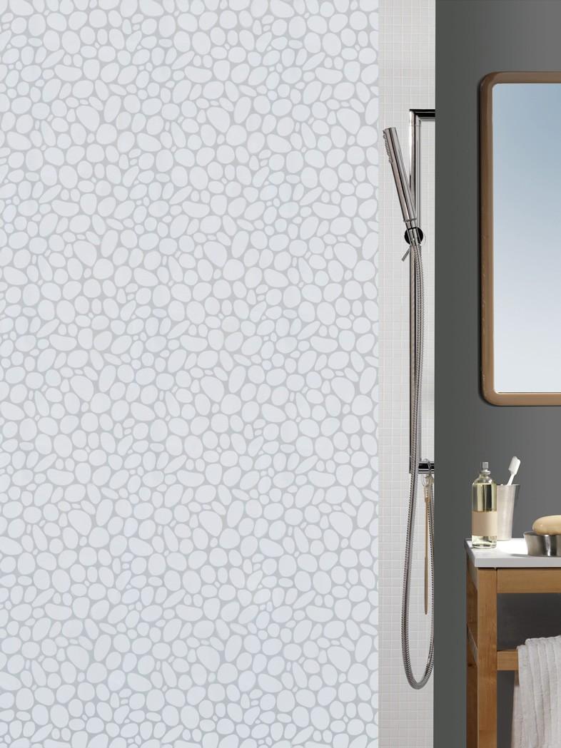 Κουρτίνα Μπάνιου Πλαστική (180x200) Green Style Naxos 00933