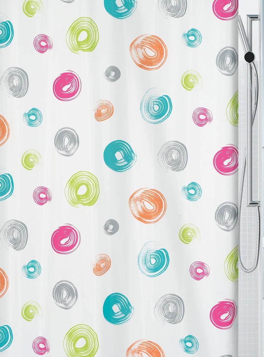 Κουρτίνα Μπάνιου (180×200) Spirella 02127.001 Brush