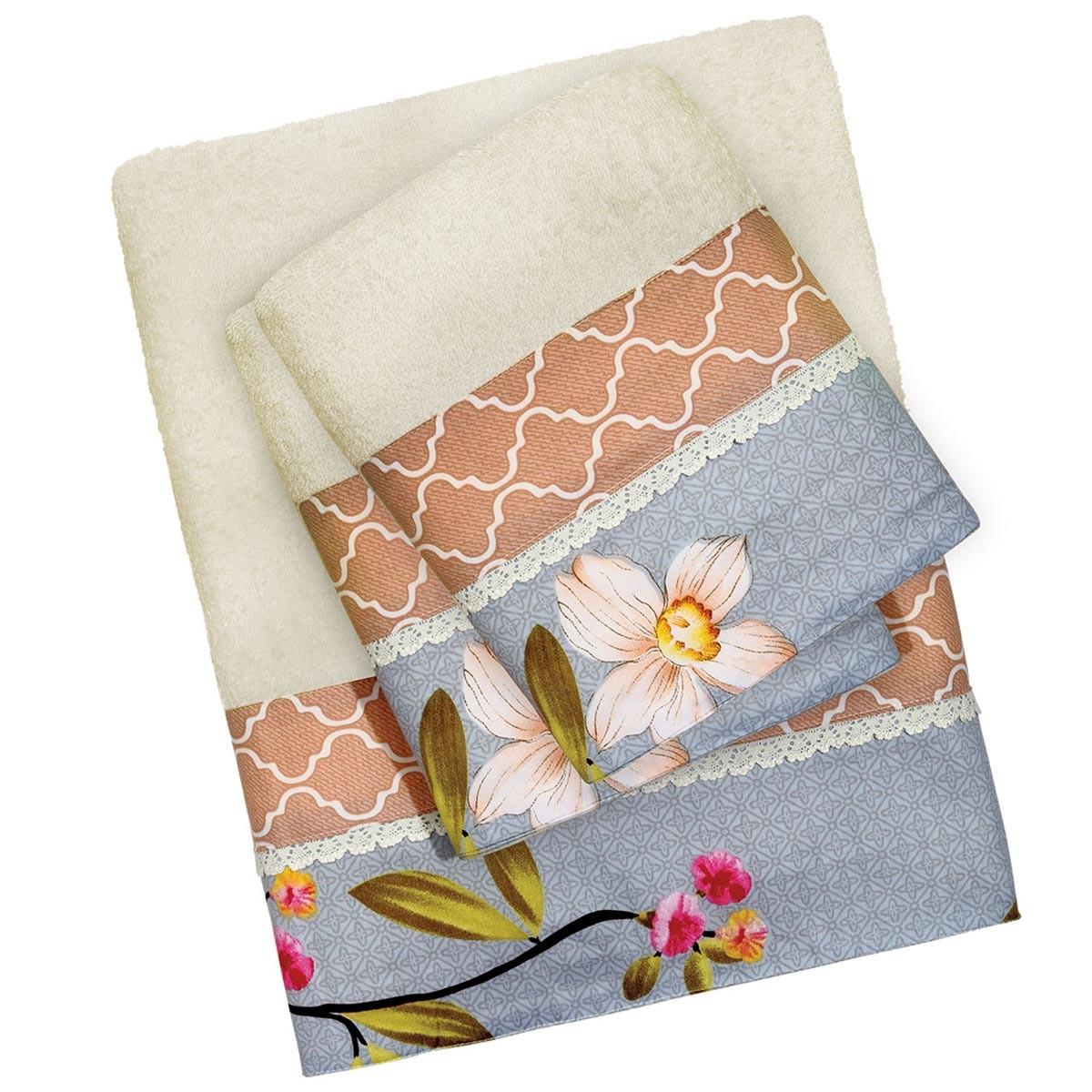 Πετσέτες Μπάνιου (Σετ 3τμχ) Das Home Prestige Line 302 66546