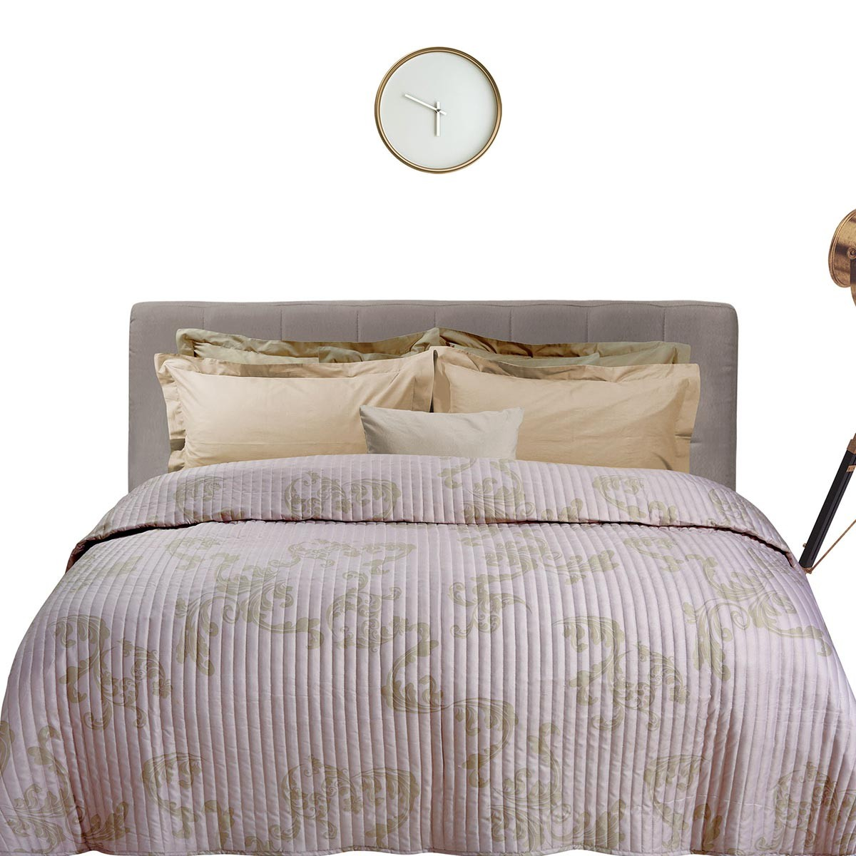 Κουβερλί Υπέρδιπλο Das Home Happy Prints 9352 Iron Free
