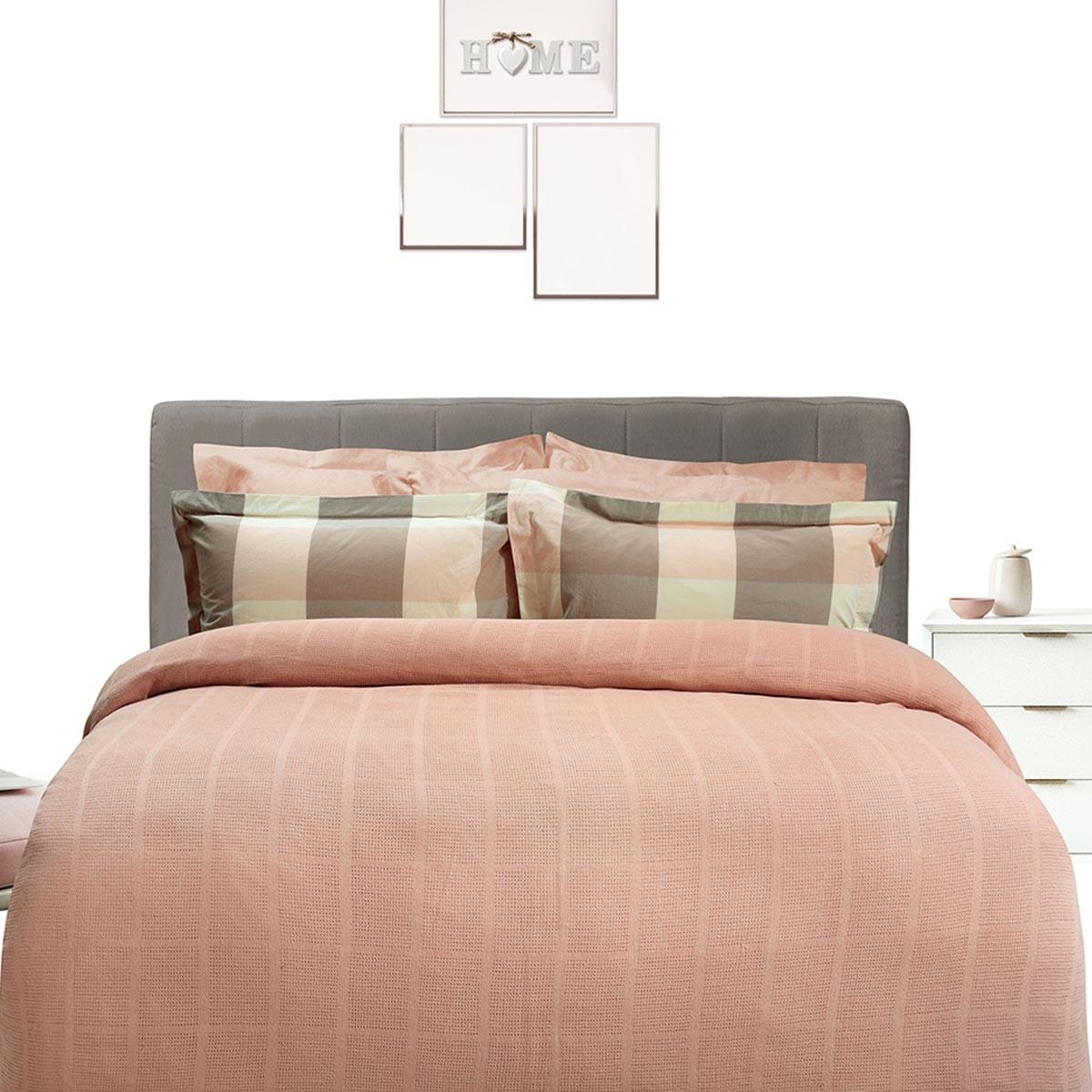 Κουβέρτα Πλεκτή Μονή Das Home Blanket Line 375 66580