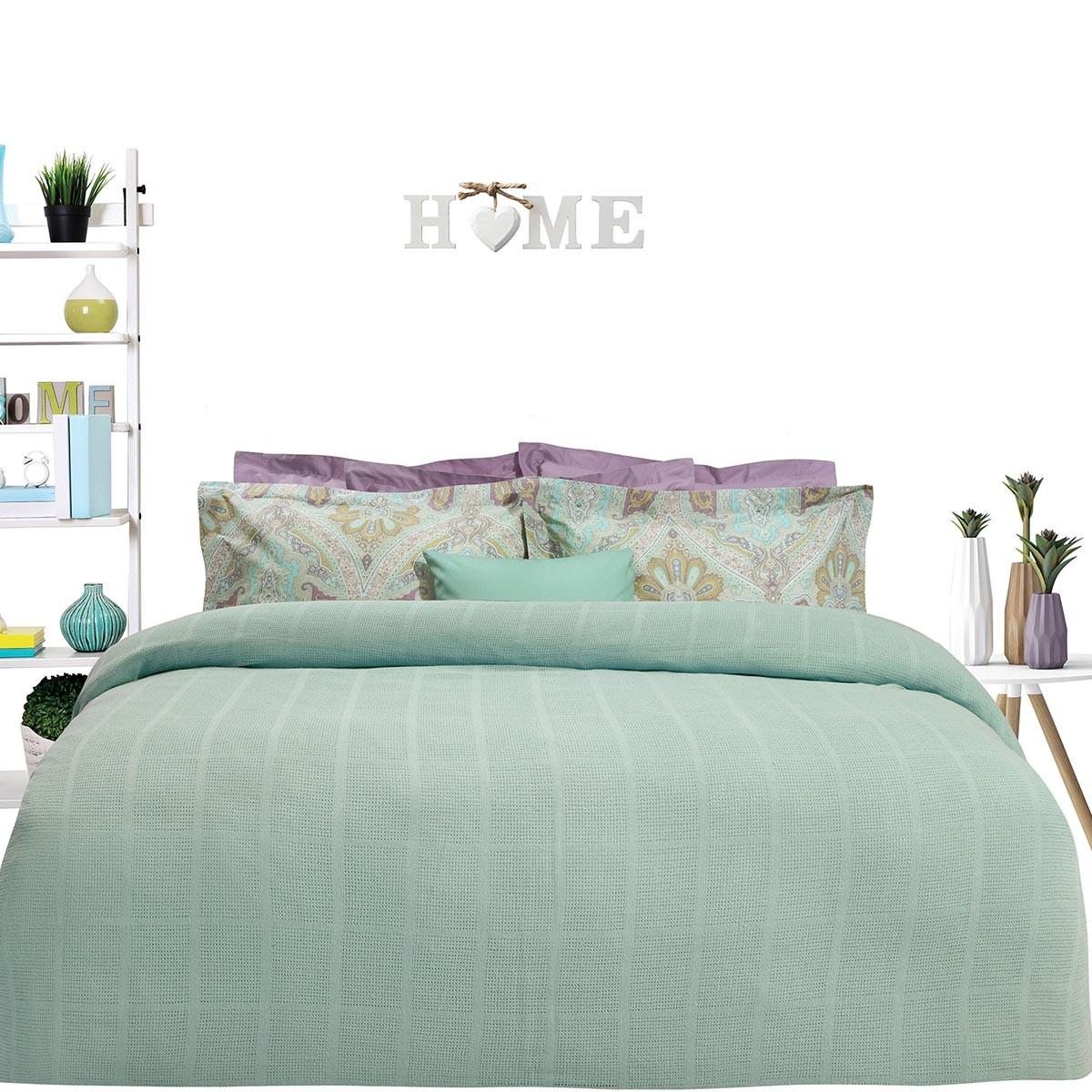 Κουβέρτα Πλεκτή Μονή Das Home Blanket Line 376 66581