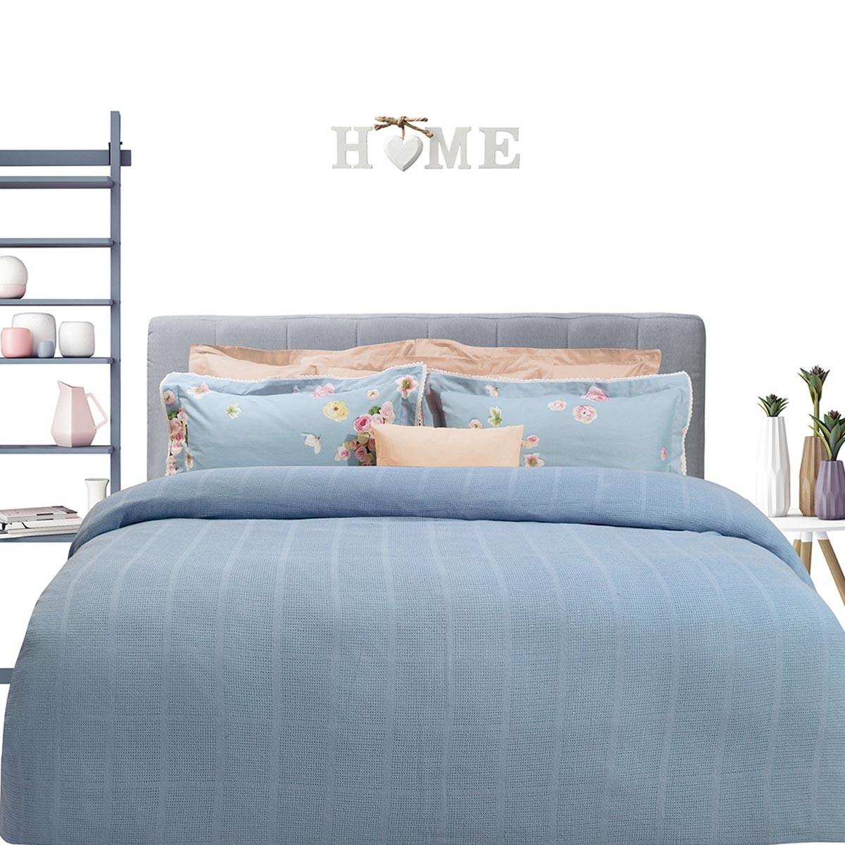 Κουβέρτα Πλεκτή Μονή Das Home Blanket Line 377 66582
