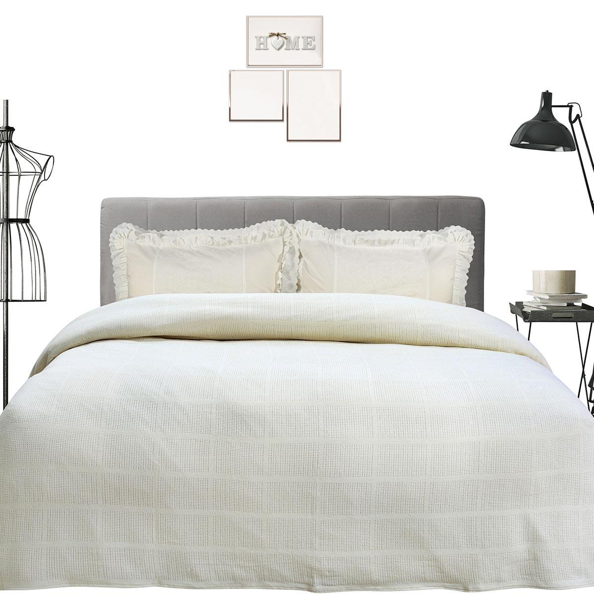 Κουβέρτα Πλεκτή Υπέρδιπλη Das Home Blanket Line 373 66584