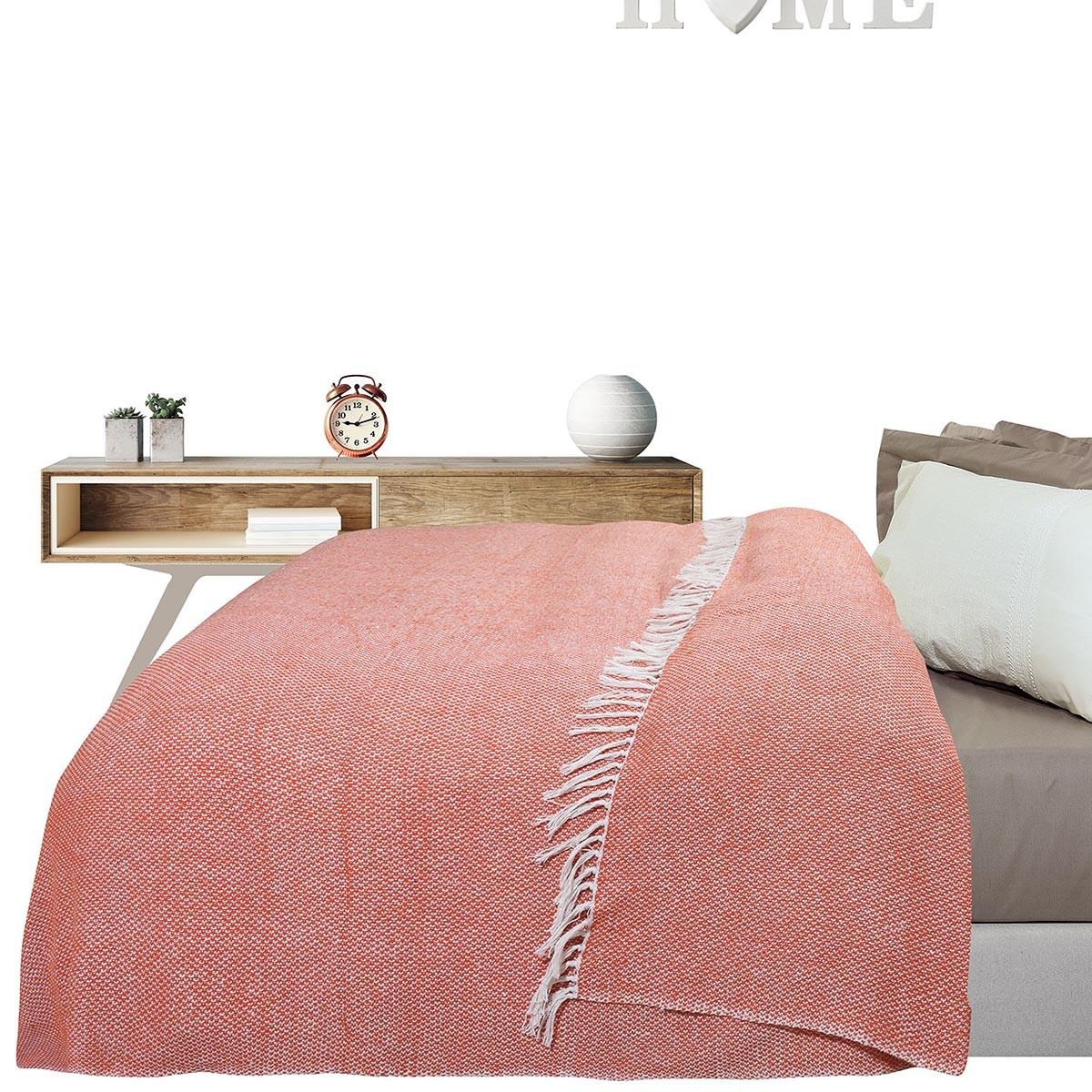 Κουβερτόριο Μονό Das Home Blanket Line Jacquard 386