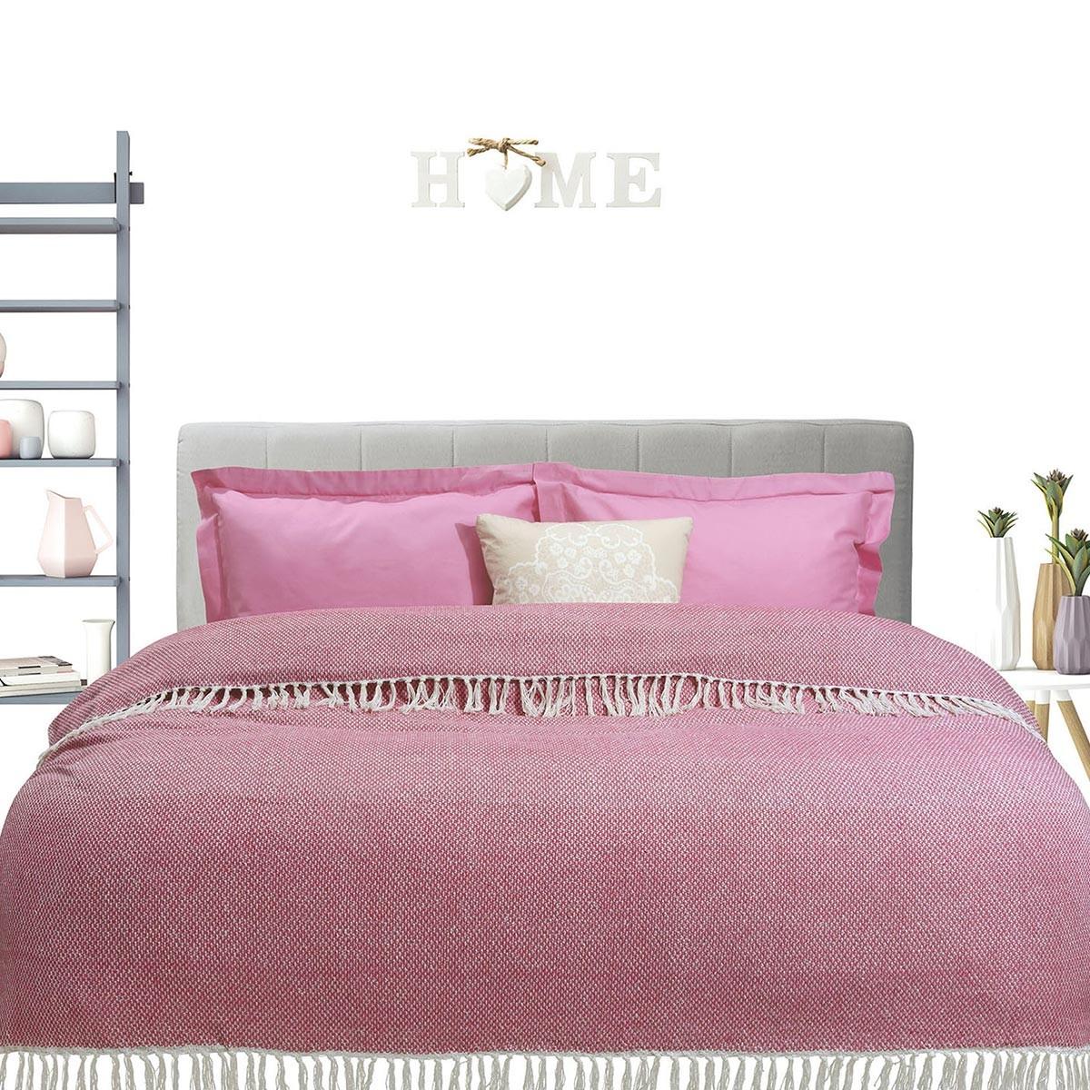 Κουβερτόριο Υπέρδιπλο Das Home Blanket Line Jacquard 387 home   κρεβατοκάμαρα   κουβέρτες   κουβέρτες καλοκαιρινές υπέρδιπλες