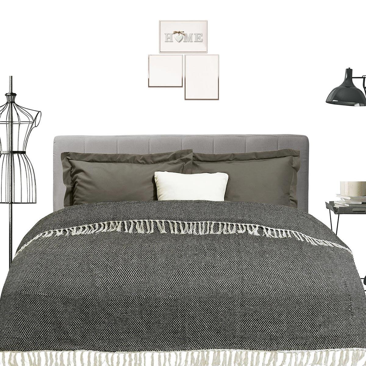 Κουβερτόριο Υπέρδιπλο Das Home Blanket Line Jacquard 388