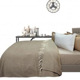 Κουβερτόριο Μονό Das Home Blanket Line Jacquard 383