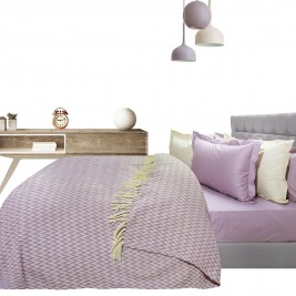 Κουβερτόριο Υπέρδιπλο Das Home Blanket Line Jacquard 379