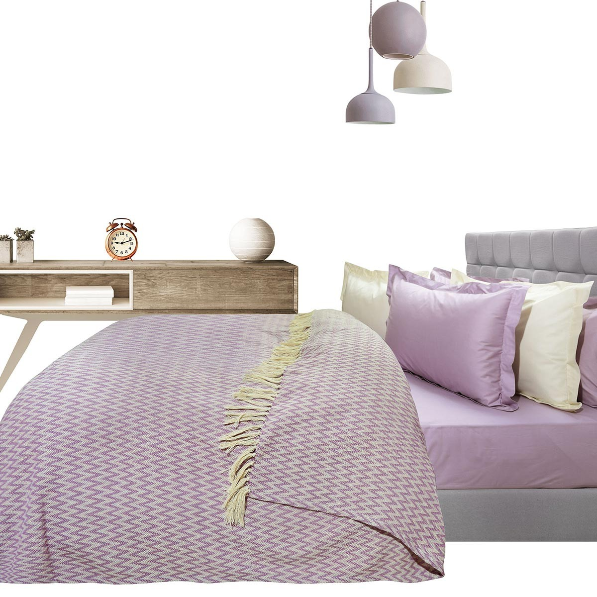 Κουβερτόριο Υπέρδιπλο Das Home Blanket Line Jacquard 379 home   κρεβατοκάμαρα   κουβέρτες   κουβέρτες καλοκαιρινές υπέρδιπλες
