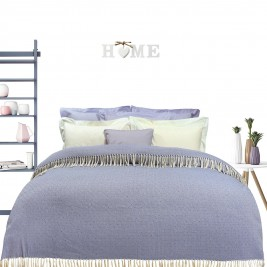 Κουβερτόριο Υπέρδιπλο Das Home Blanket Line Jacquard 382