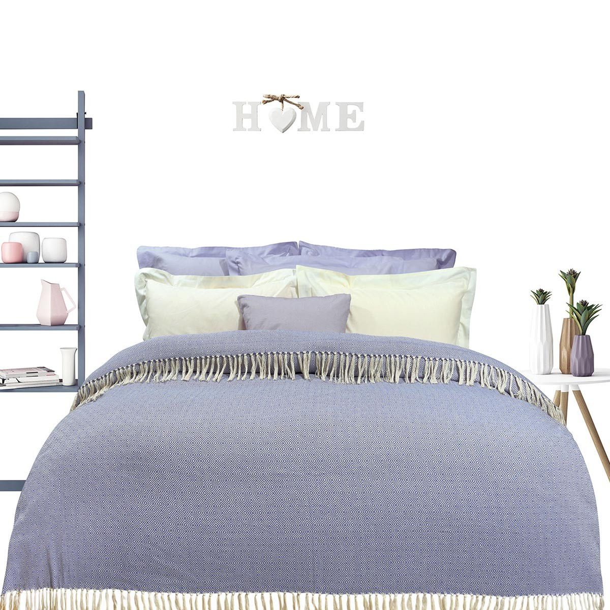 Κουβερτόριο Υπέρδιπλο Das Home Blanket Line Jacquard 382 66689