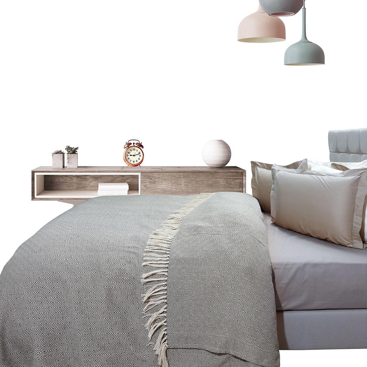 Κουβερτόριο Υπέρδιπλο Das Home Blanket Line Jacquard 384 66691