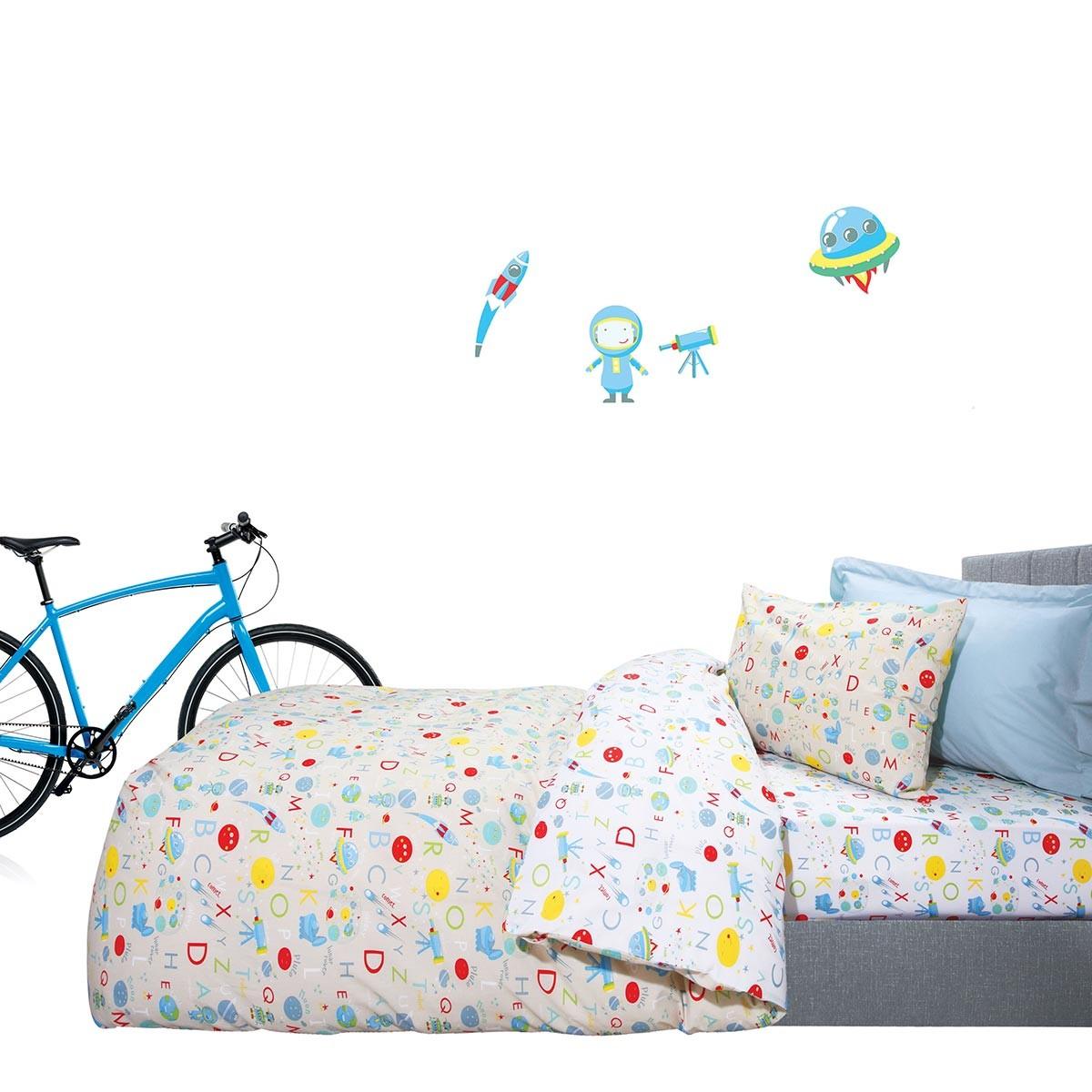 Σεντόνια Μονά (Σετ) Das Home Kid Prints 4593