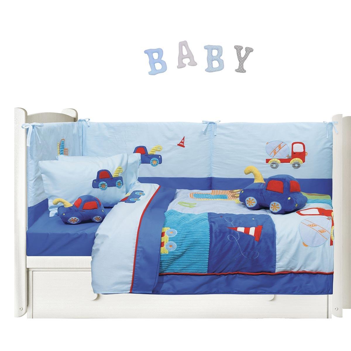 Σεντόνια Κούνιας (Σετ) Das Home Dream Embroidery 6393