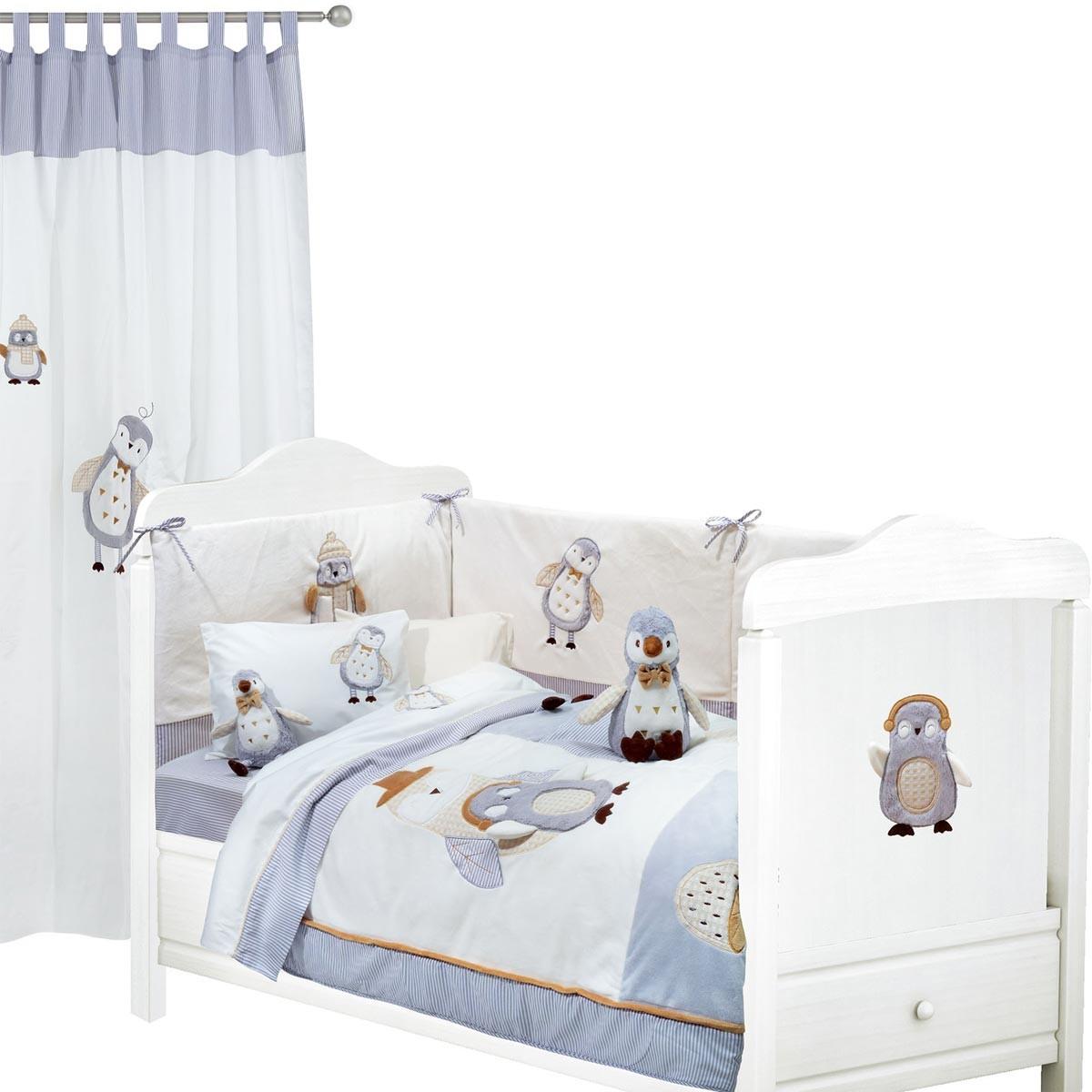 Σεντόνια Κούνιας (Σετ) Das Home Dream Embroidery 6394