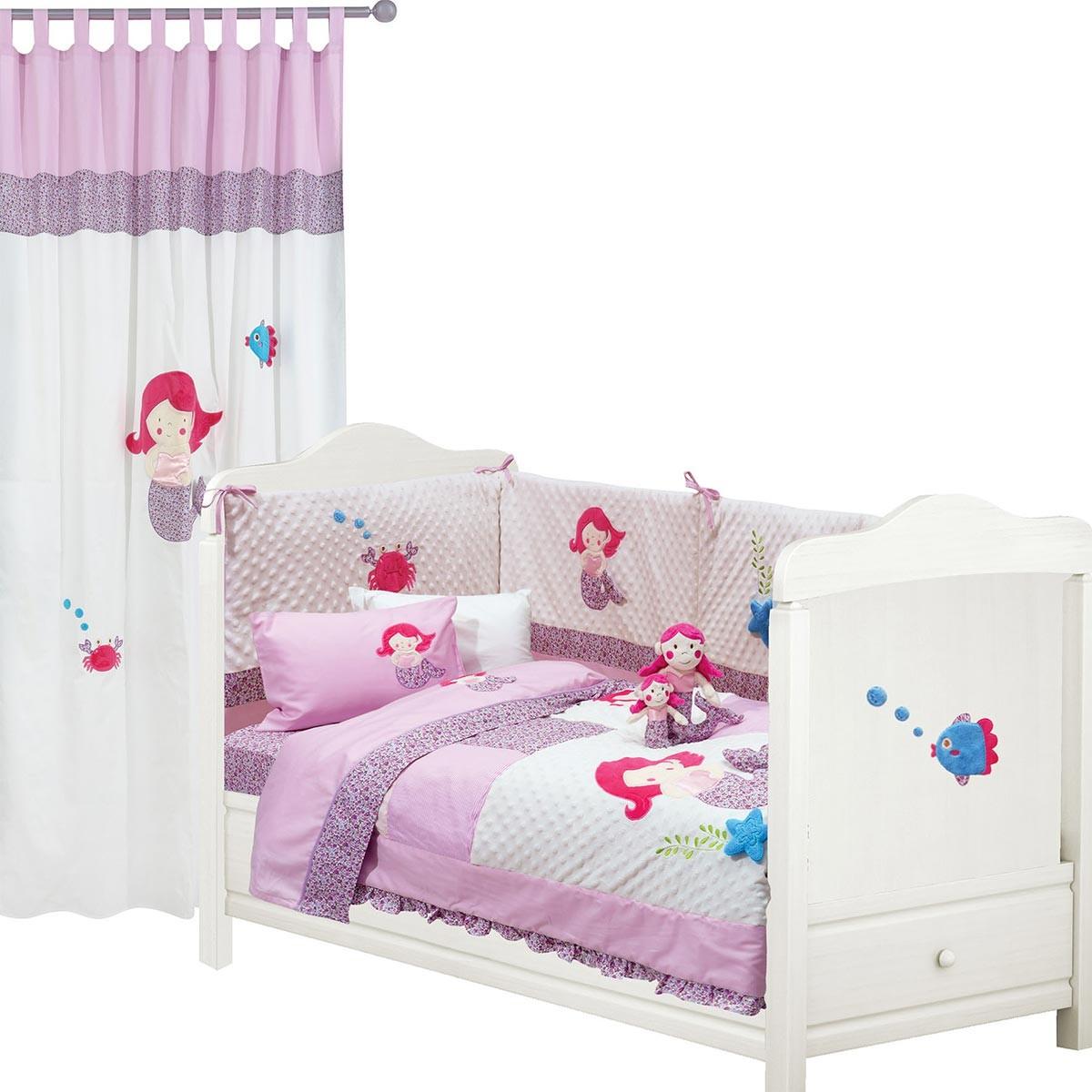 Σεντόνια Κούνιας (Σετ) Das Home Dream Embroidery 6395