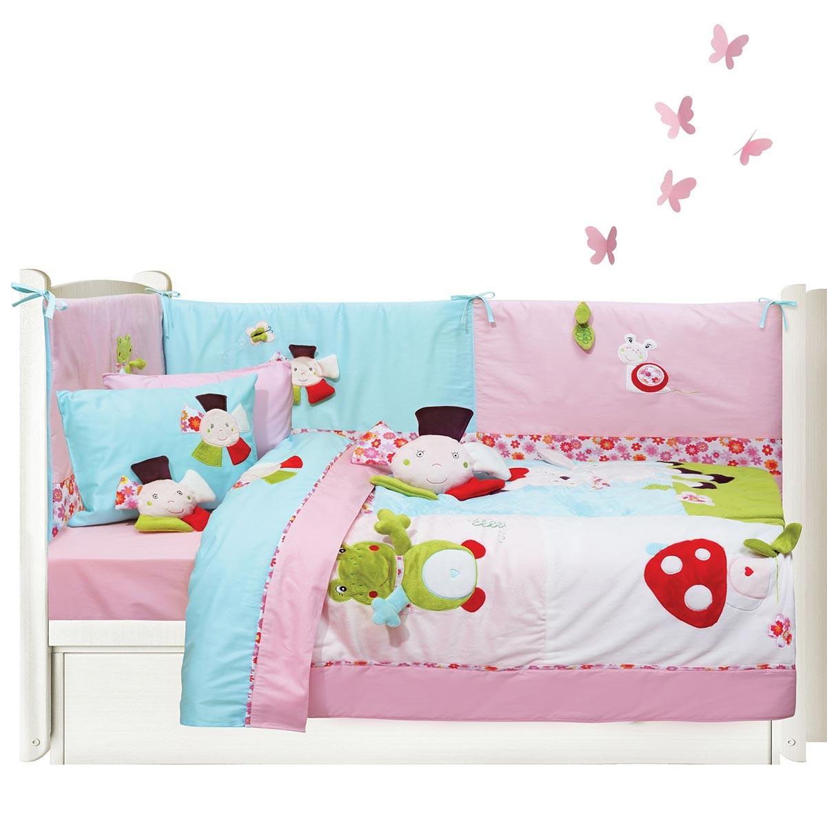 Κουβερλί Κούνιας (Σετ) Das Home Dream Embroidery 6396 66775