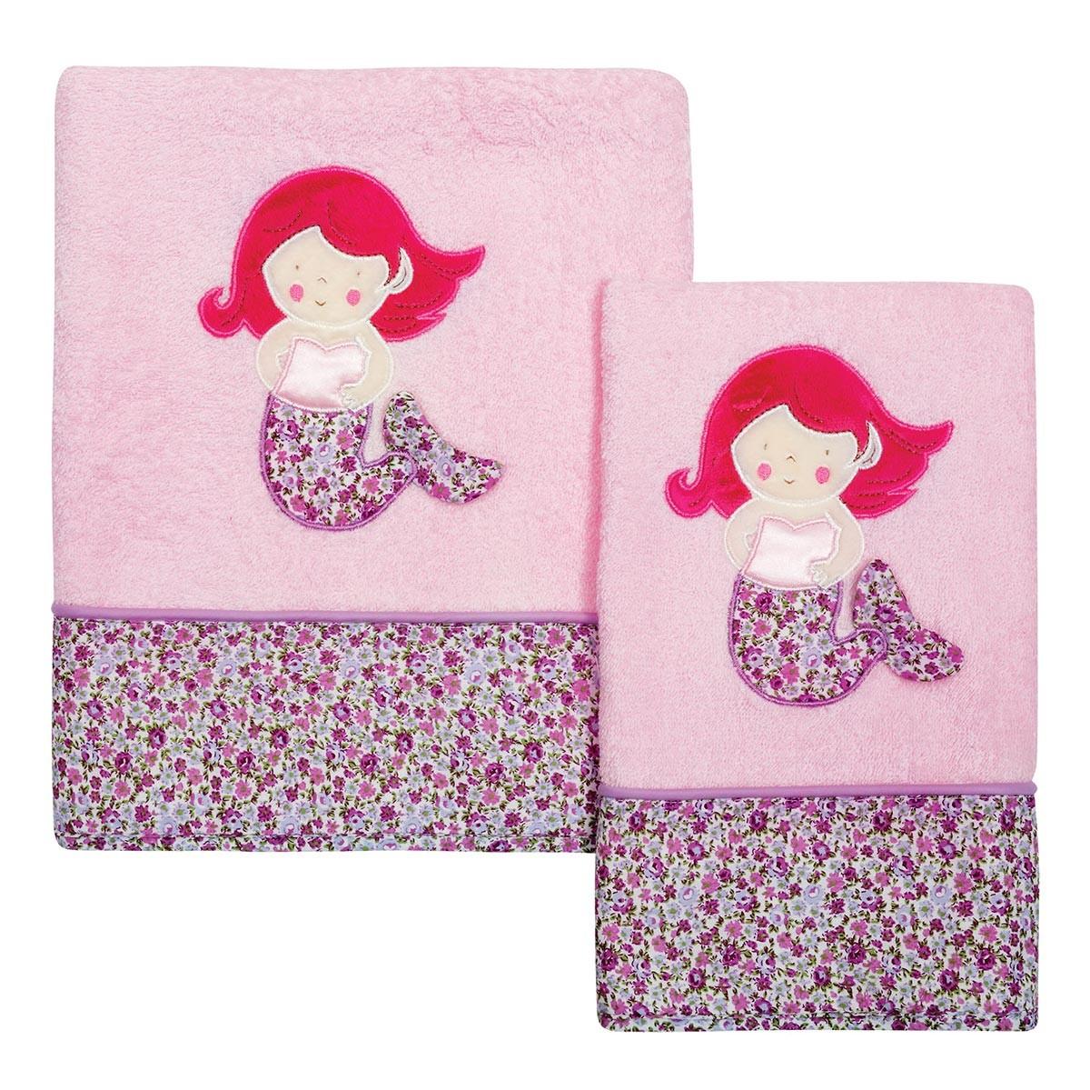 Βρεφικές Πετσέτες (Σετ 2τμχ) Das Home Dream Embroidery 6395