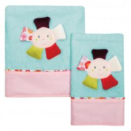 Βρεφικές Πετσέτες (Σετ 2τμχ) Das Home Dream Embroidery 6396