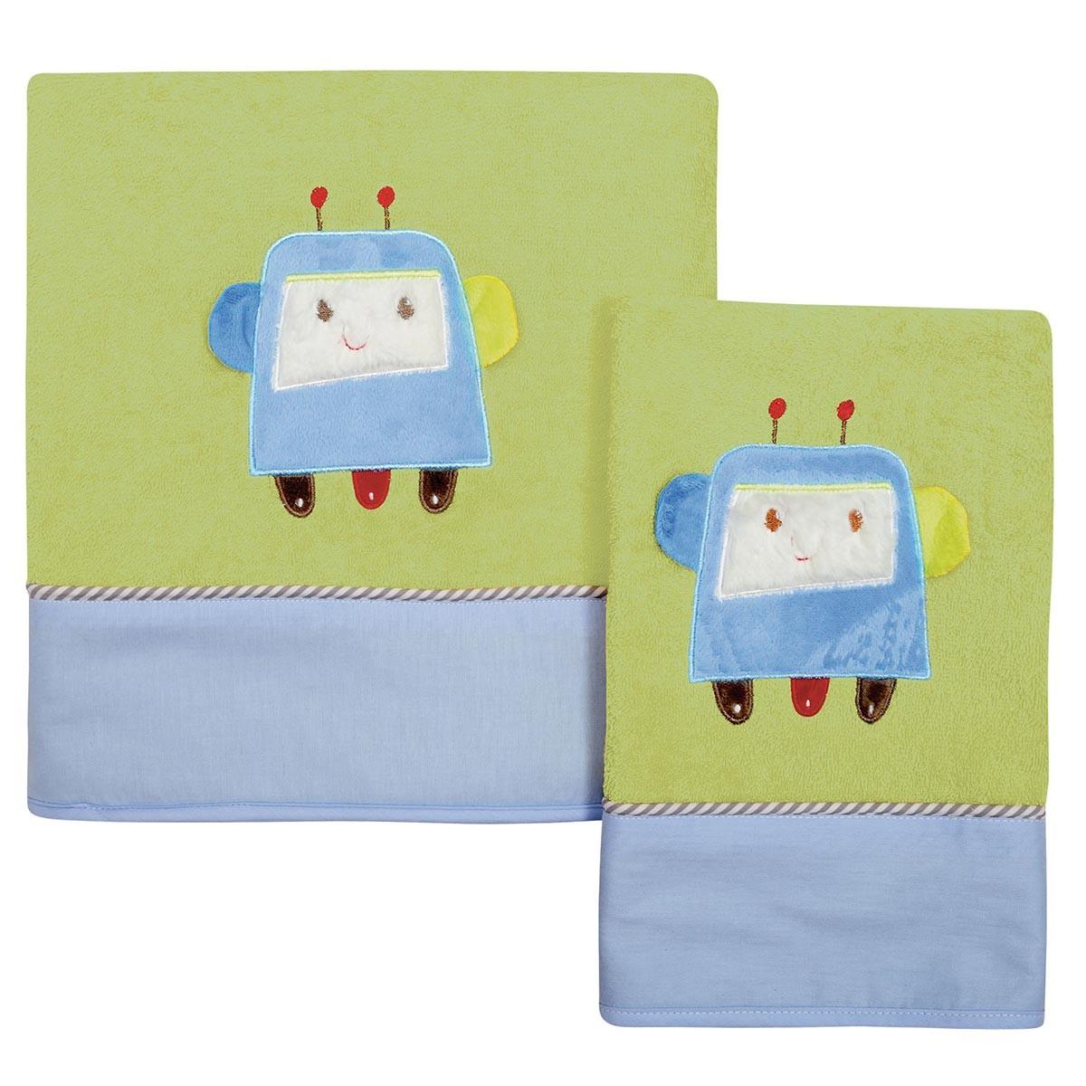 Βρεφικές Πετσέτες (Σετ 2τμχ) Das Home Dream Embroidery 6397