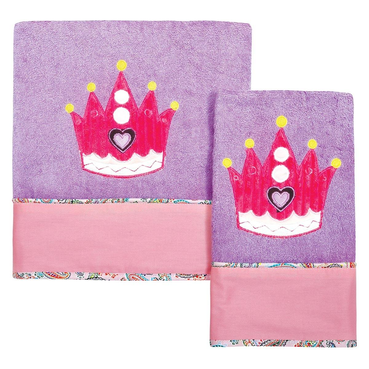 Βρεφικές Πετσέτες (Σετ 2τμχ) Das Home Dream Embroidery 6398