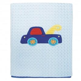 Κουβέρτα Πικέ Κούνιας Das Home Dream Embroidery 6393