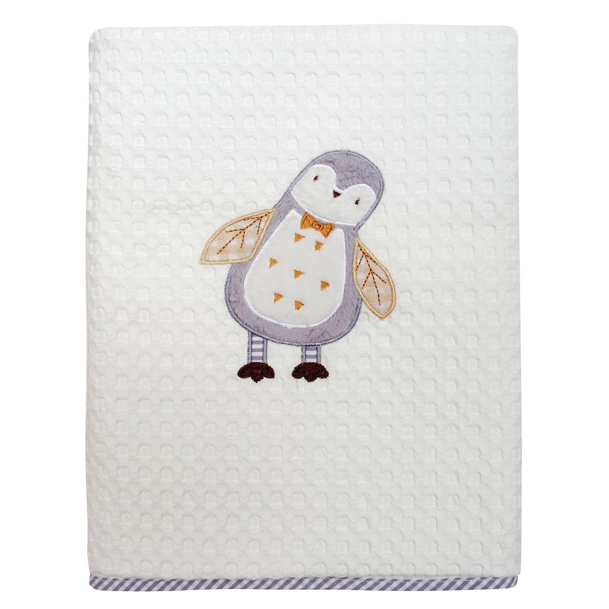 Κουβέρτα Πικέ Κούνιας Das Home Dream Embroidery 6394