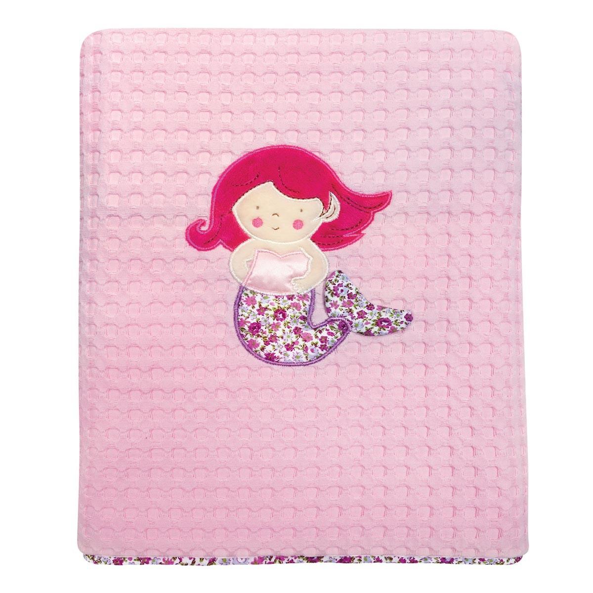 Κουβέρτα Πικέ Κούνιας Das Home Dream Embroidery 6395