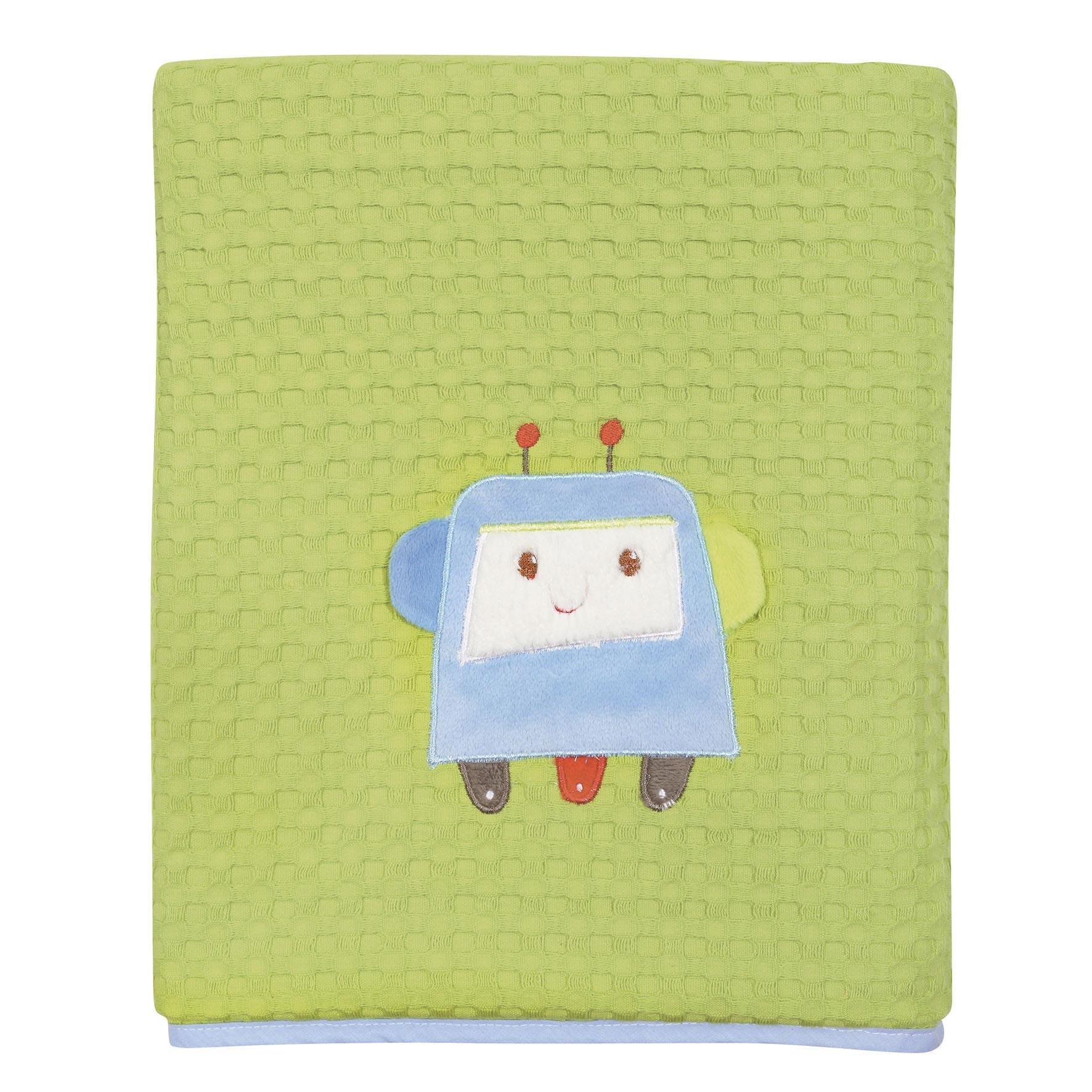 Κουβέρτα Πικέ Κούνιας Das Home Dream Embroidery 6397