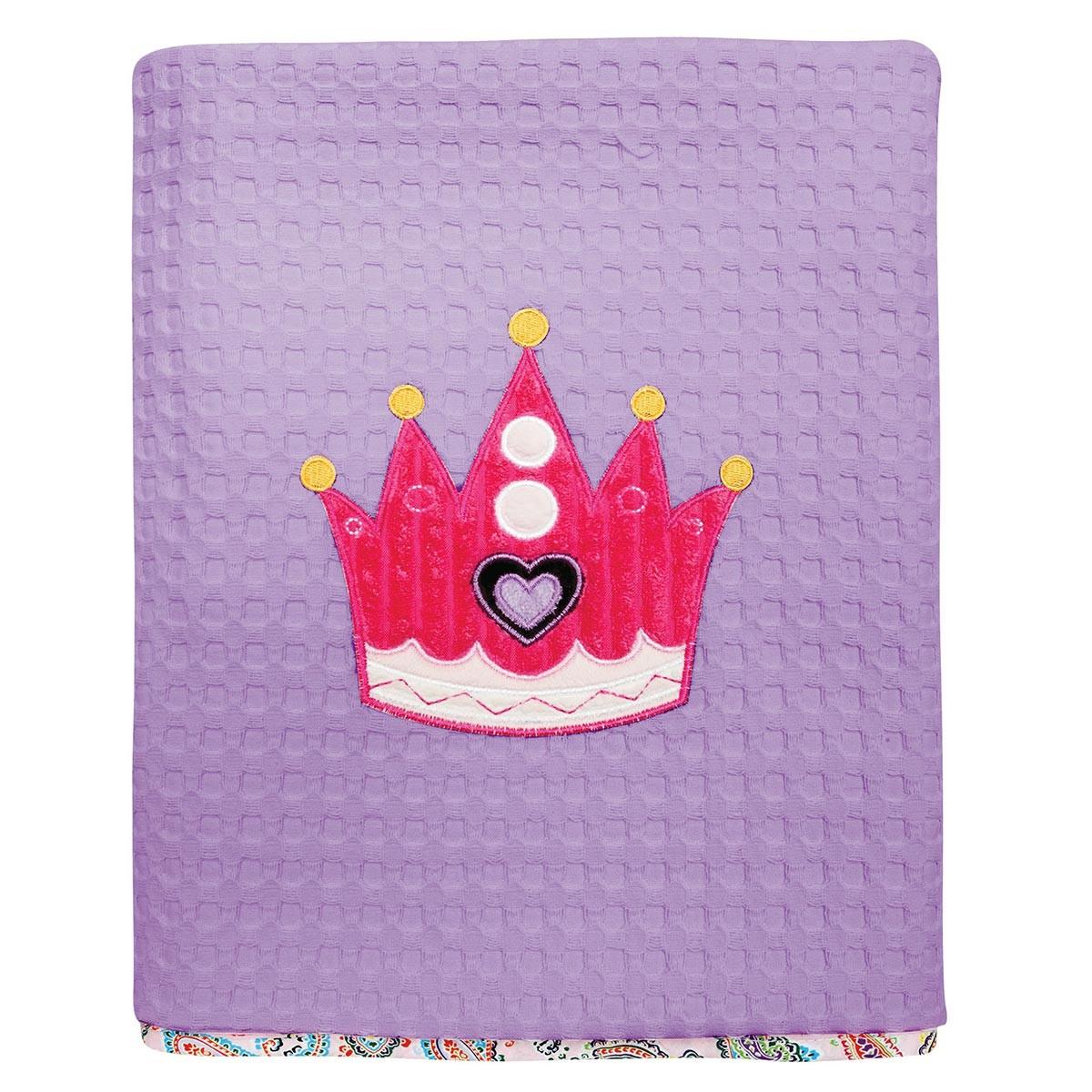 Κουβέρτα Πικέ Κούνιας Das Home Dream Embroidery 6398