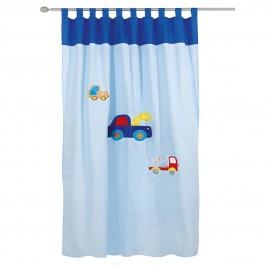 Παιδική Κουρτίνα (140x260) Με Θηλιές Das Home 2110