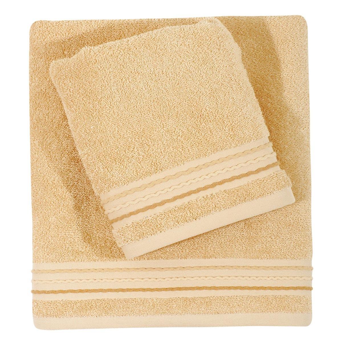 Πετσέτες Μπάνιου (Σετ 3τμχ) Das Home Best Towels 307
