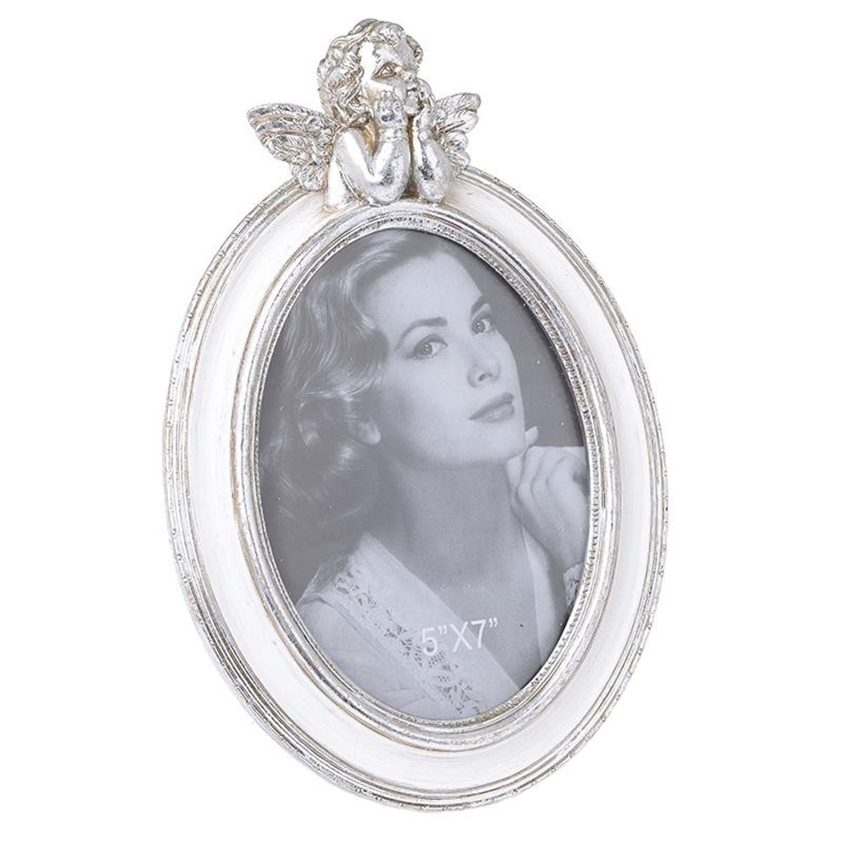 Κορνίζα (13×18) InArt Cherub Silver Large 3-30-117-0216 67065
