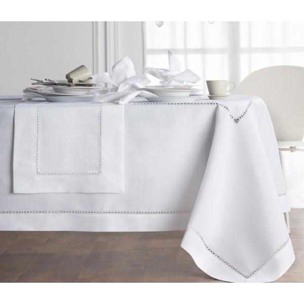 Τραπεζομάντηλο (170x170) Gofis Home Hem White 080/16