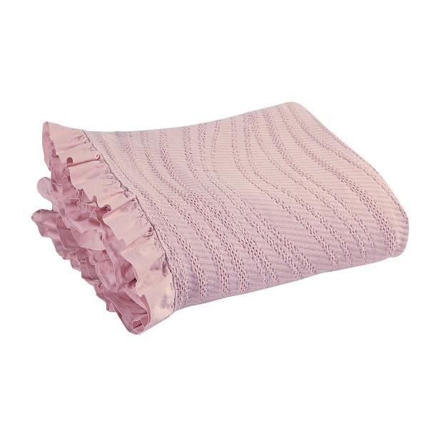 Κουβερτόριο Υπέρδιπλο Nef-Nef Krystalia Pink