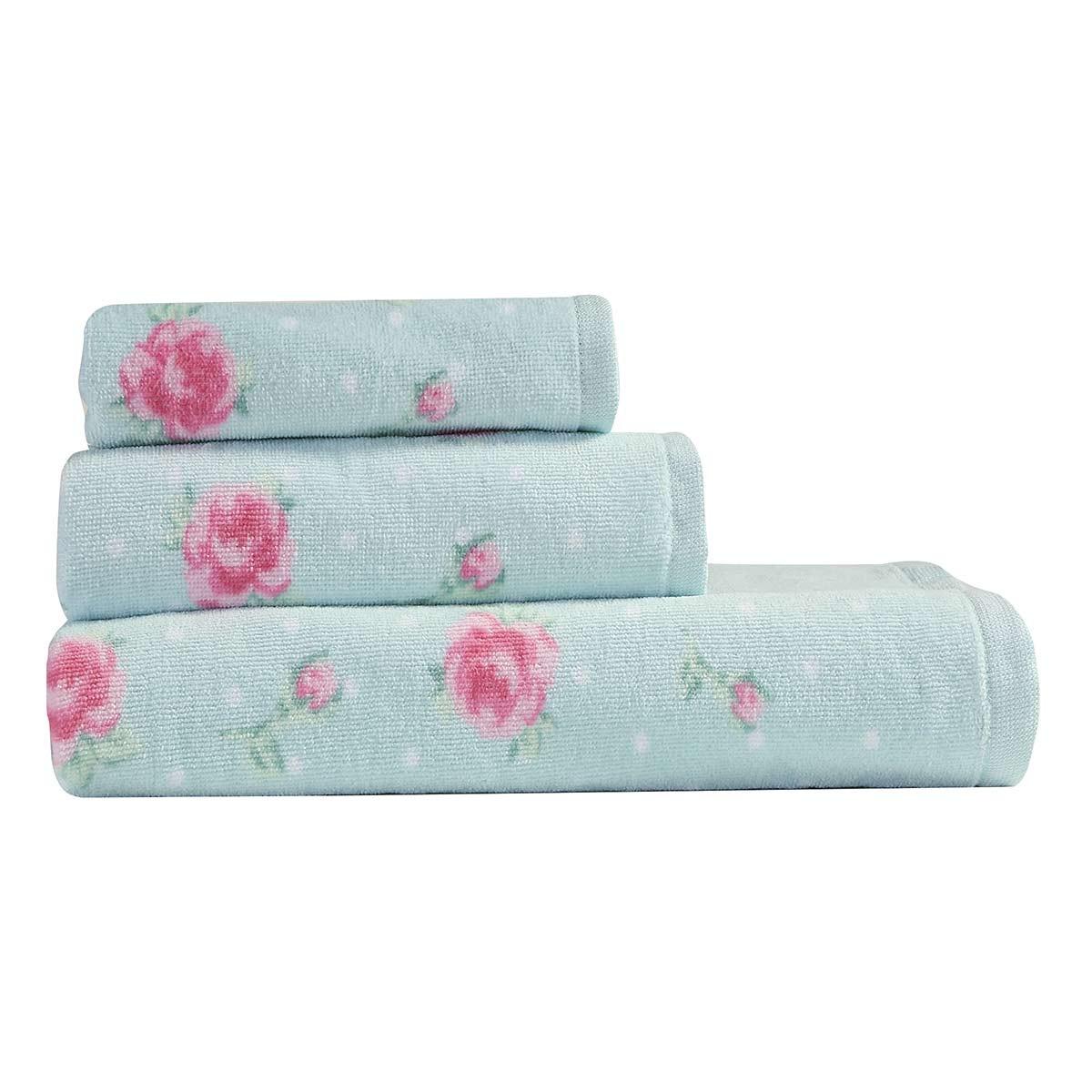 Πετσέτες Μπάνιου (Σετ 3τμχ) Nef-Nef Bath Floral