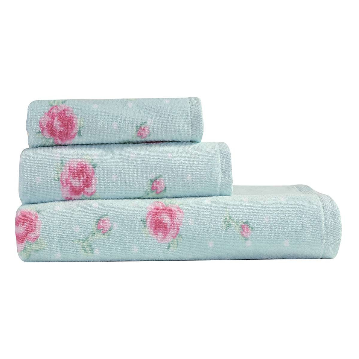 Πετσέτες Προσώπου (Σετ 2τμχ) Nef-Nef Bath Floral