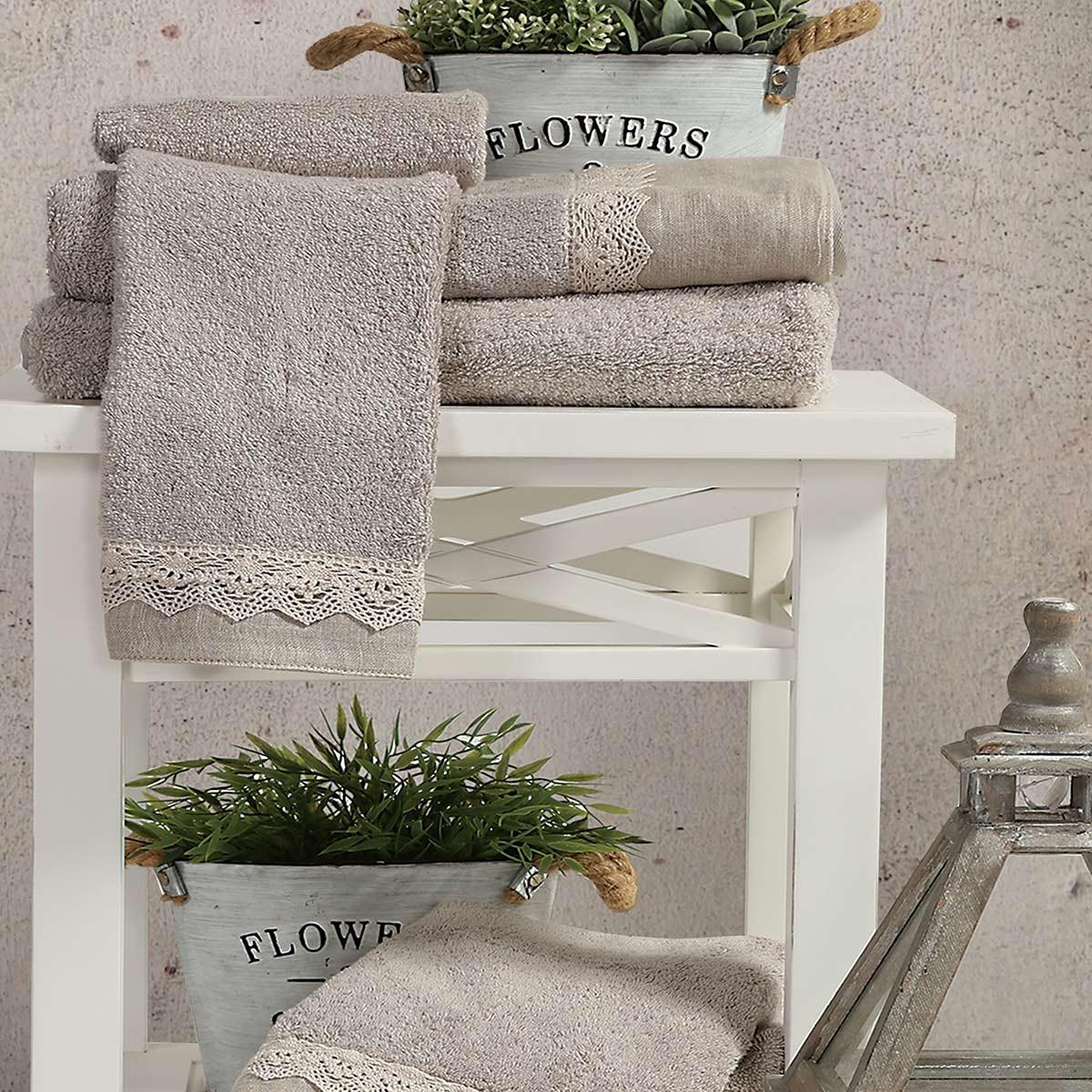 Πετσέτες Μπάνιου (Σετ) Nef-Nef Bath Angelica