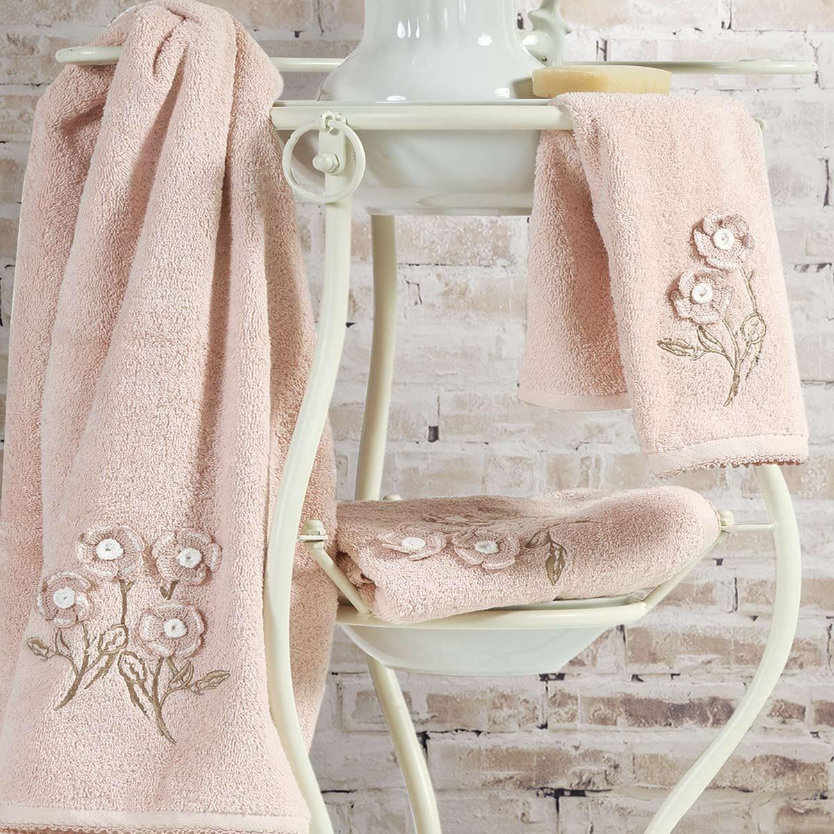 Πετσέτες Μπάνιου (Σετ 3τμχ) Nef-Nef Bath Tiffany