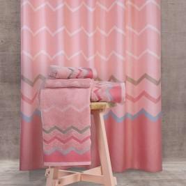 Κουρτίνα Μπάνιου (180x180) Nef-Nef Bath Reidar Pink