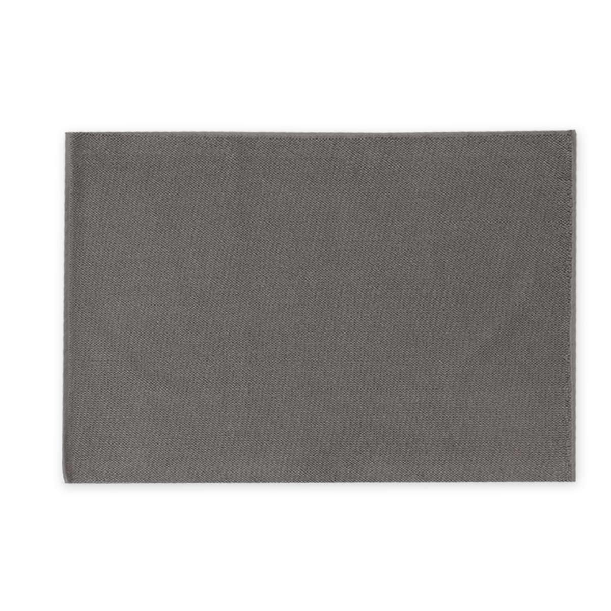 Πατάκι Μπάνιου Πετσετέ (55x80) Nef-Nef Bath Ravena Anthracite