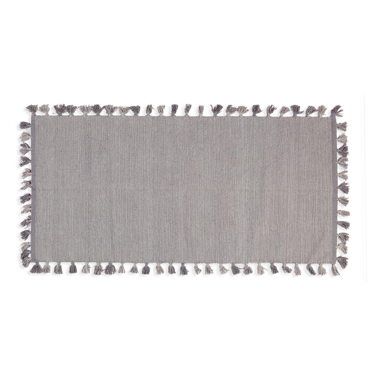 Χαλάκι Κουζίνας (70x140) Nef-Nef Pom Pom Grey