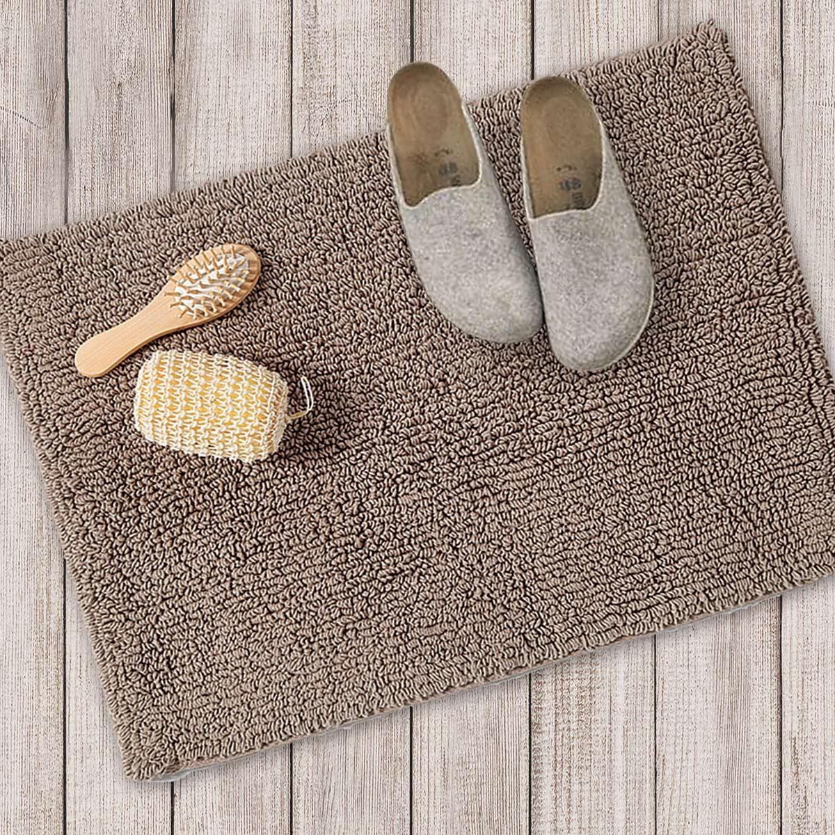Πατάκι Μπάνιου (40x60) Nef-Nef Bath Prime Plain Brown